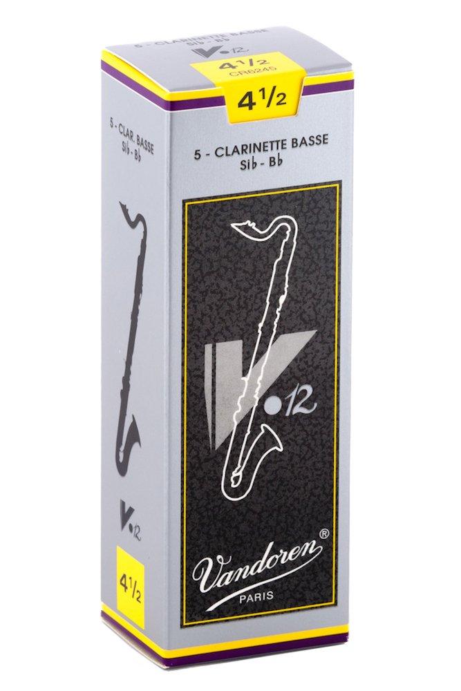Vandoren CR624 Caja de 5 ca/ñas para clarinete bajo