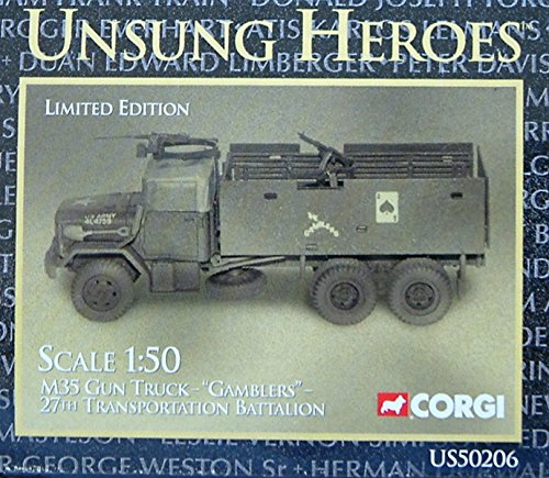 Used, CORGI Vietnam Series IV M35 Gun Truck . Unsung Heroes. for sale  Delivered anywhere in USA