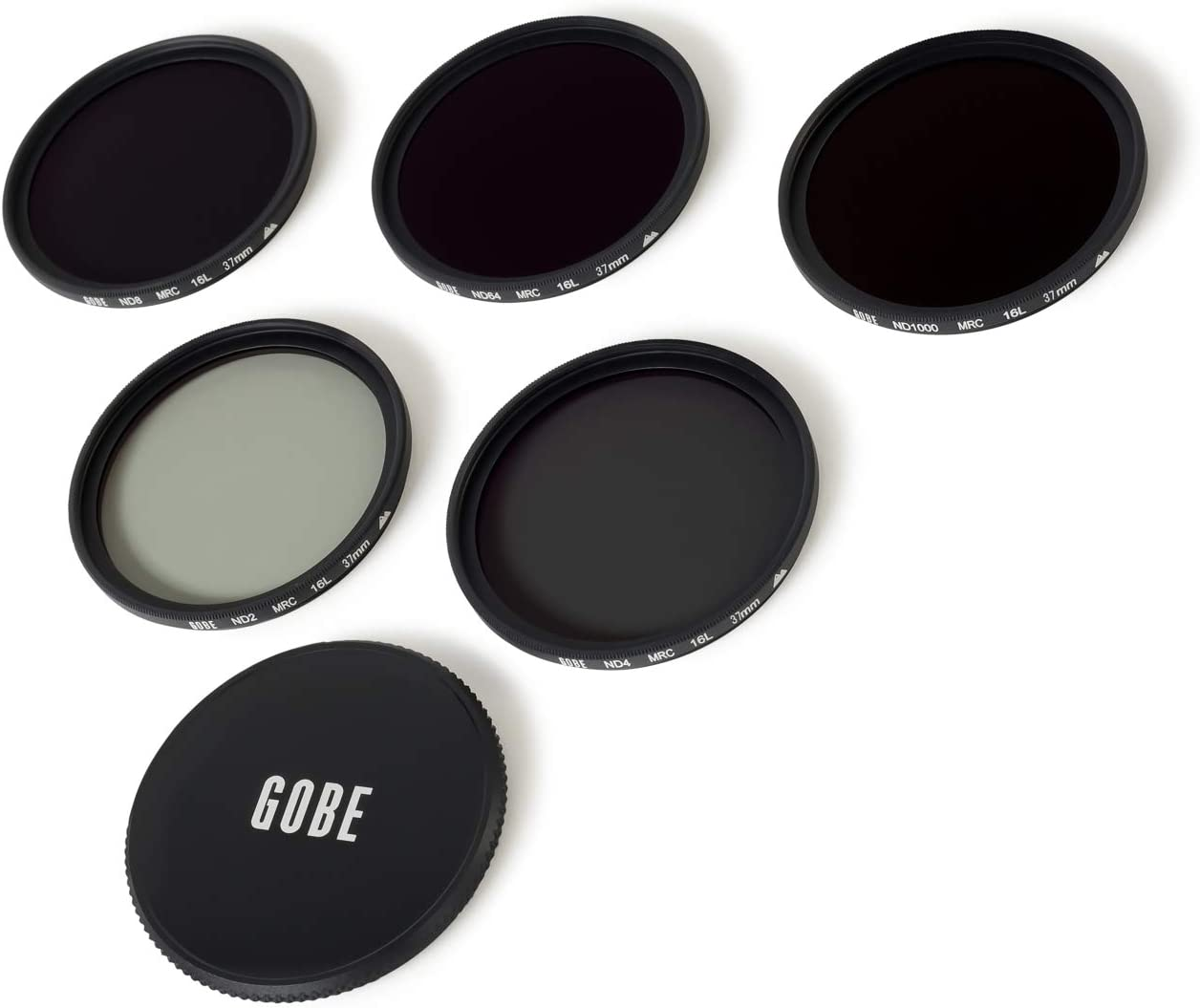 ND64 ND1000 Lens Filter Kit Gobe 37mm ND2 ND8 ND4 2Peak