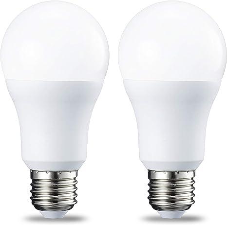 AmazonBasics Bombilla LED Esférica E27, 10W (equivalente a 75W ...