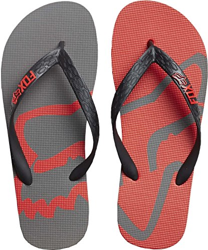 Chanclas Fox Beached Graphite (Eu 45 / Us 11 , Gris)