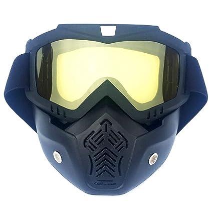 AmDxD PC Motorcycle Gafas Protección Máscara Ciclismo Gafas ...