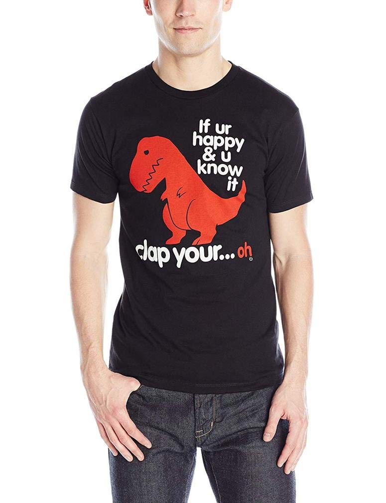 Clap Your Oh Sad S Printing S Funny Short Sleeves Shirts