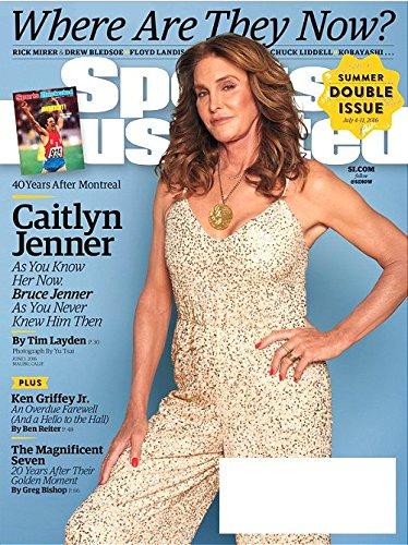 Sports Illustrated Magazine June 1, 2016 CAITLYN JENNER Cover, Ken Griffey Jr
