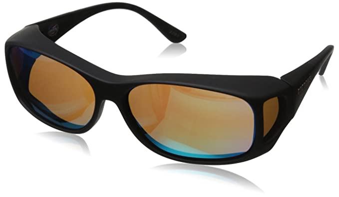 13af64a1a21 Cocoons By Live Eyewear C702R MX Black Green Mirror Polarized OveRx  Sunglasses