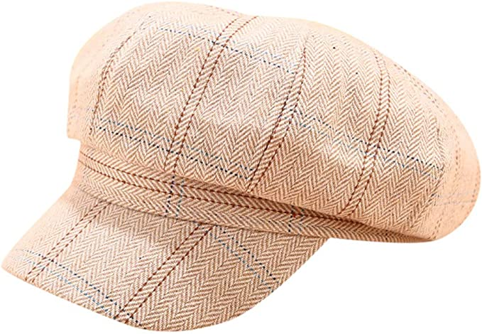 Fulltime(TM) Boinas Sombreros De Invierno para Mujer Gorra Plana ...