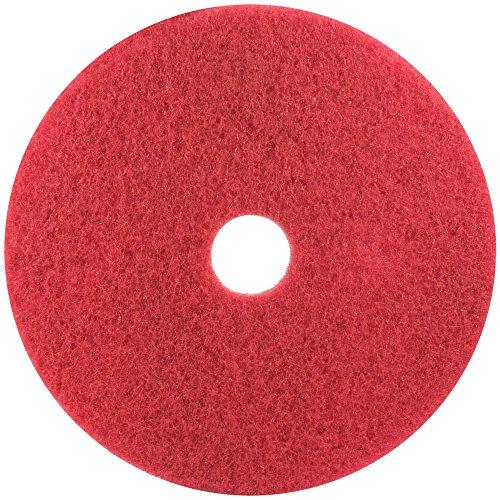 3 M hg119-r Boden Pad, 48,3 cm Durchmesser, rot (5 Stück)
