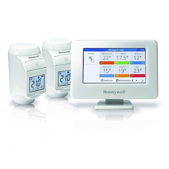 24 opinioni per Honeywell THR99C3102- Sistema di regolazione Evohome Wi-Fi senza fili, Kit di