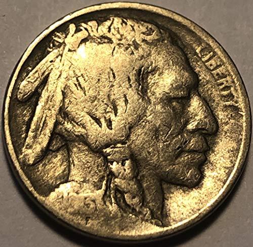 1913 P Buffalo Type II First Year Type 2 Nickel Fine