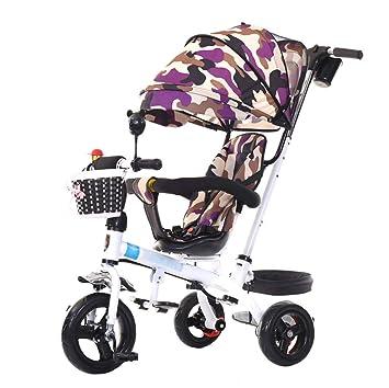 Cochecito de bebé único Carro de Carro para niños de 1-6 años de Edad