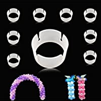 GuassLee 100pcs Balloon Ring Clips for Balloon Arch and Balloons Column Stand Party Decoration Accessory Balloon Buckle…