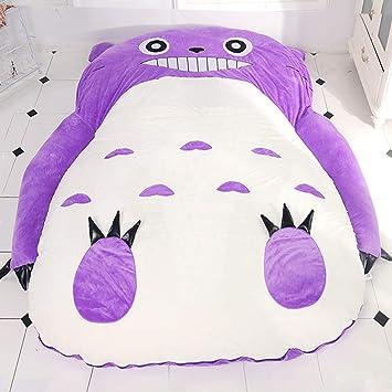 Wdj Totoro Colchones para Cama,Colchón Tatami,Sofás salón,Colchón,Acolchado,para Dormitorio Sala Pasillo,Purple,200 * 150cm: Amazon.es: Hogar