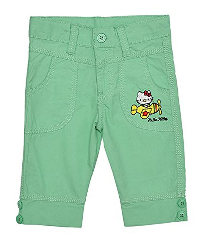 6c855cf68 Girl's Official Hello Kitty Applique Bright Capri Cotton Pants Sizes from 2  to 6 Years: Amazon.ca: Clothing & Accessories