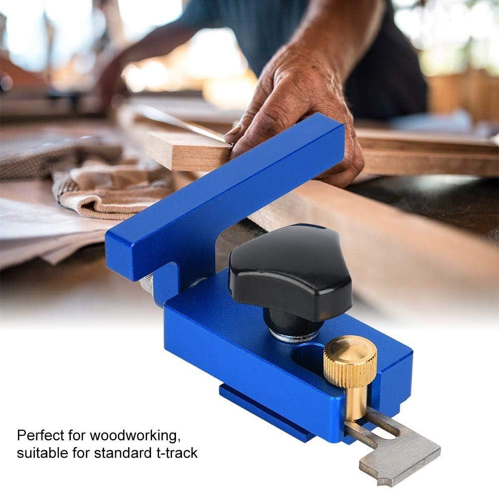 30#//45# Limit Mitre Track Stop T-Track Outil de travail du bois pr/écis de haute qualit/é Mitre Track Stop 45#