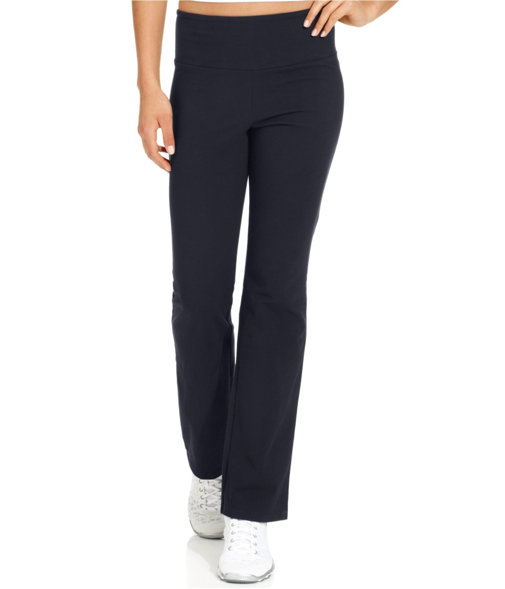Style & Co.. Womens Tommy-Control Yoga Pants Blue 2XL/29 by Style & Co. (Image #1)