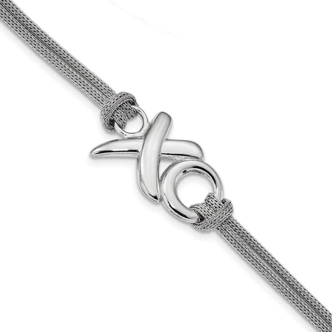 Sterling Silver Jewelry Pendants /& Charms 8 mm 54 mm CZ Journey Pendant