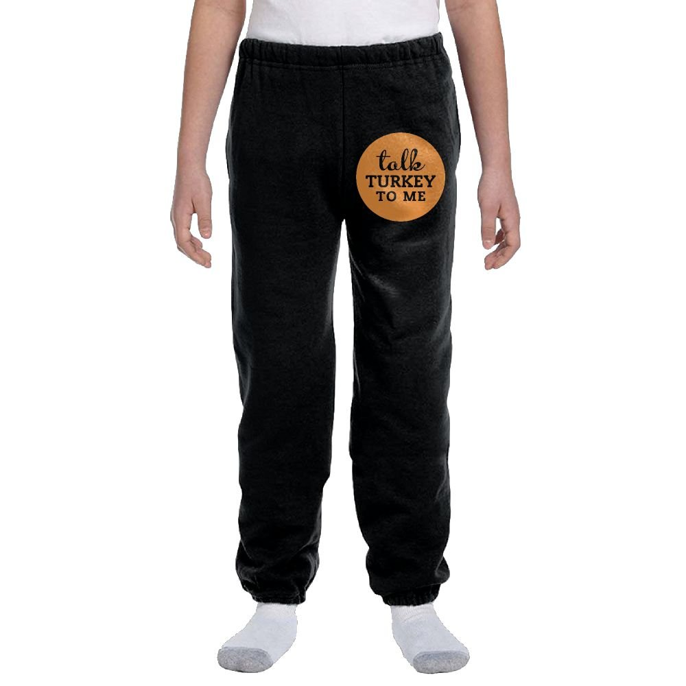LuckStarKID Talk Turkey To Me Fashion Durable Unisex Sweatpants For Callan by LuckStarKID