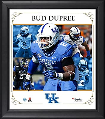 "Bud Dupree Kentucky Wildcats Framed 15"" x 17"" Core Composite - Fanatics Authentic Certified - College Player Plaques and Collages"