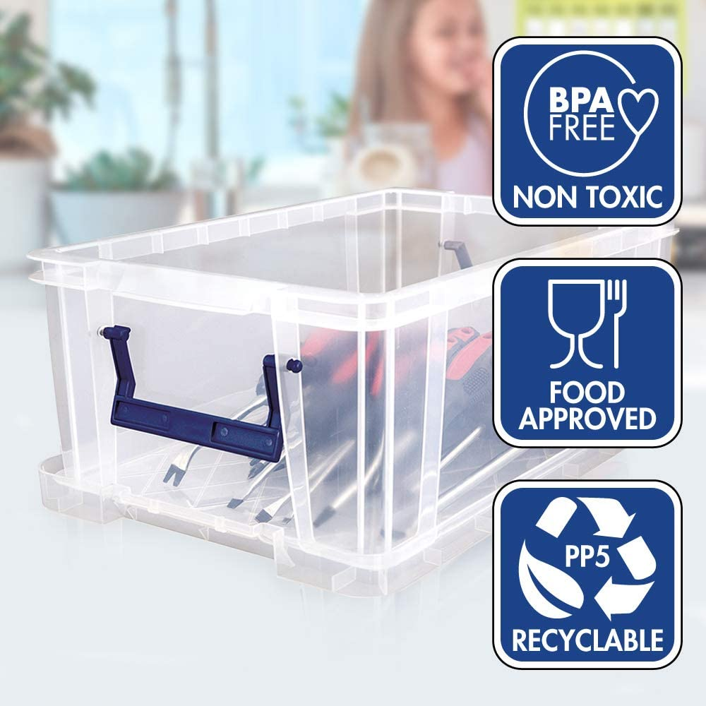 BANKERS BOX ProStore Plastic Storage Box 10 Litre Int. Dimensions 14 x 34 x 21.5 cm