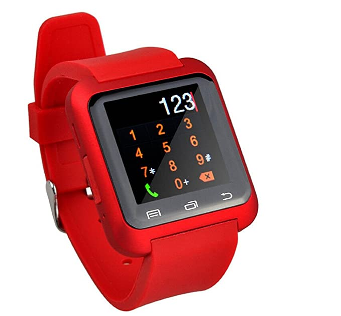 Gamsy® U80 Bluetooth 4.0 Smartwatch Watch Mobile Phone Sportswatch Pedometer for Smartphones IOS Apple iPhone 4/4S/5/5C/5S/6/6 Puls Android Samsung ...