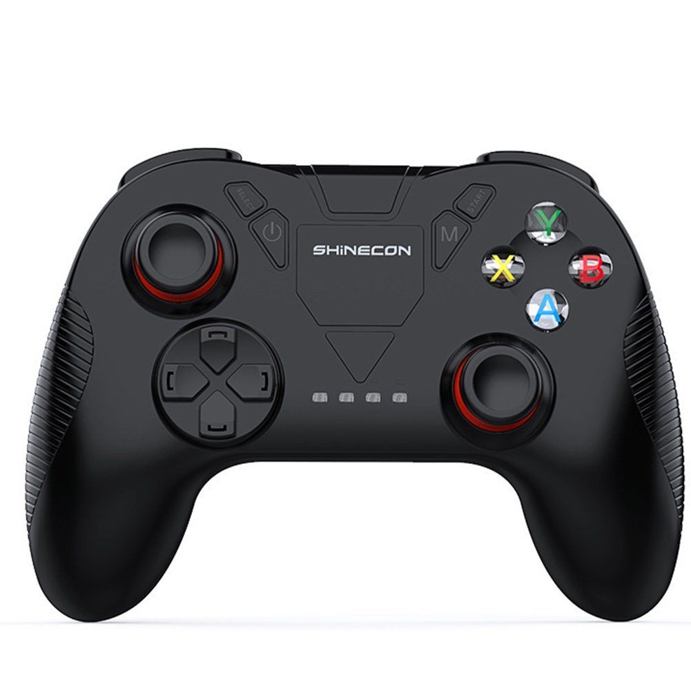 OOFAY Wireless 2.4G Game Controller Support PC And Millet Box, Android, TV Box Portable Gamepad Bluetooth Gamepad