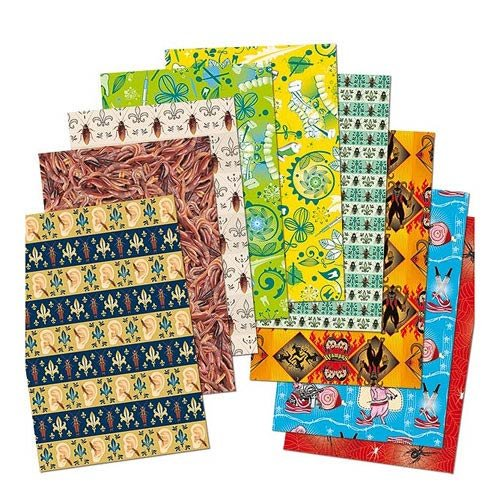 Accoutrements Creepy Wrapping Paper -