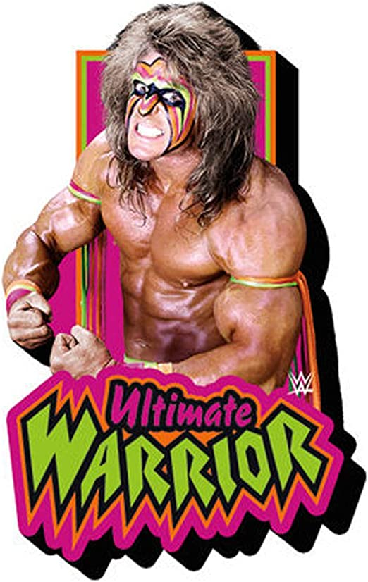 Ultimate Warrior WWE Chunky Magnet Fridge with Logo Gift