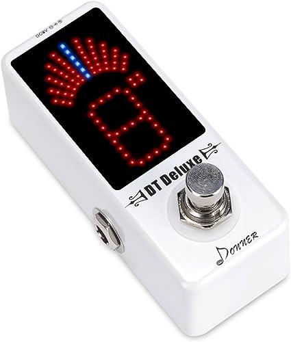 Donner - DT Deluxe Afinador Sintonizador para Guitarra Pedal de ...