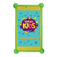 Tablet Kids com Capa Bumper, DL, 8GB, 7, Branco