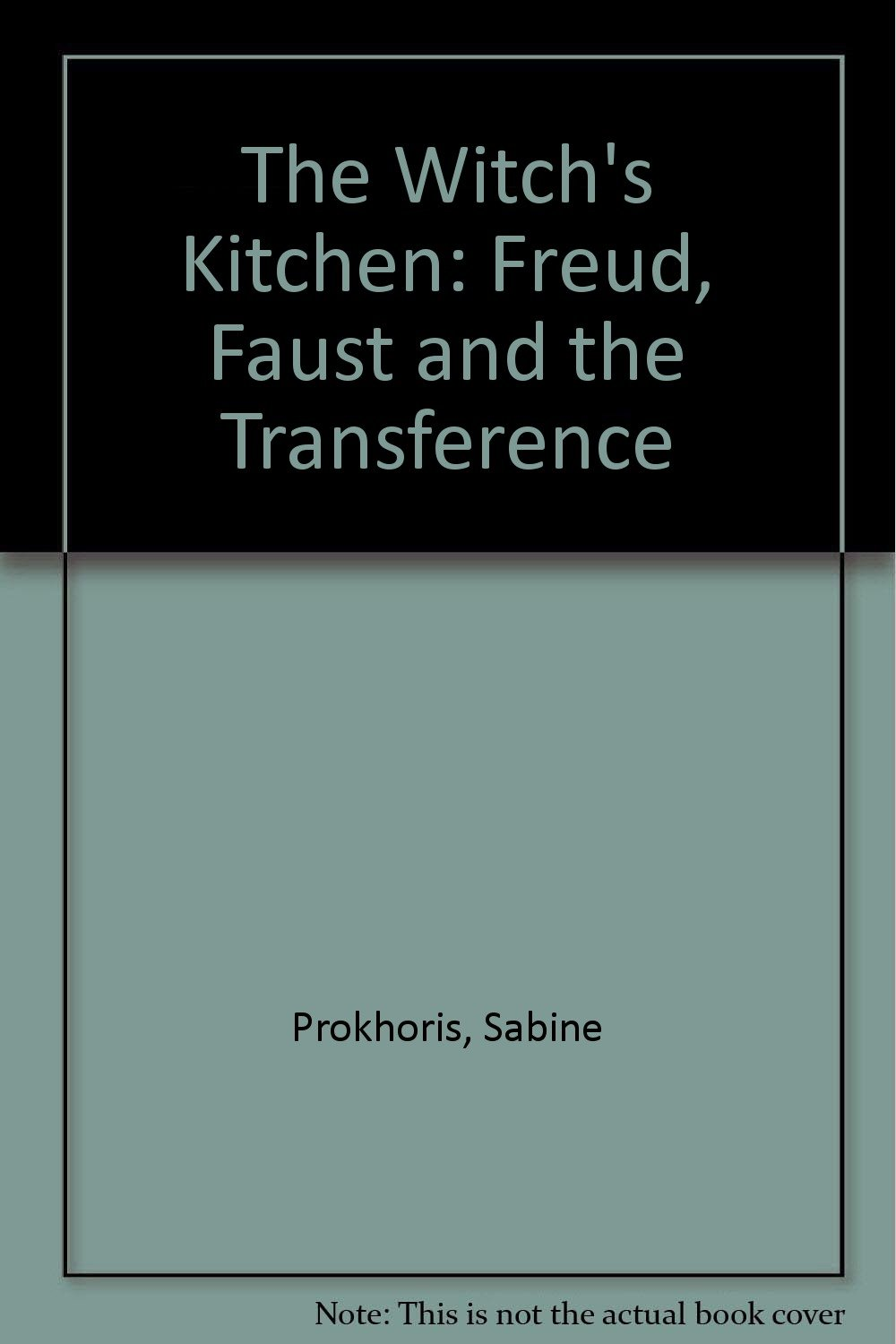 Amazon.com: The Witch\'s Kitchen: Freud, Faust, and the Transference ...