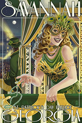 Savannah, Georgia - St. Patricks Day Parade ( Print Master Giclee