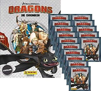 Panini Sticker 8 Dragons Die Chroniken