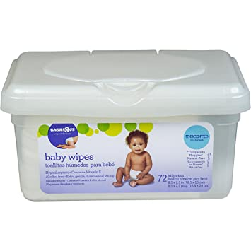 "Babies """"R"""" Us Unscented Baby Wipes ..."