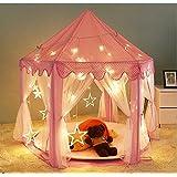 DalosDream Kids Indoor Princess Castle Play Tents, Pink