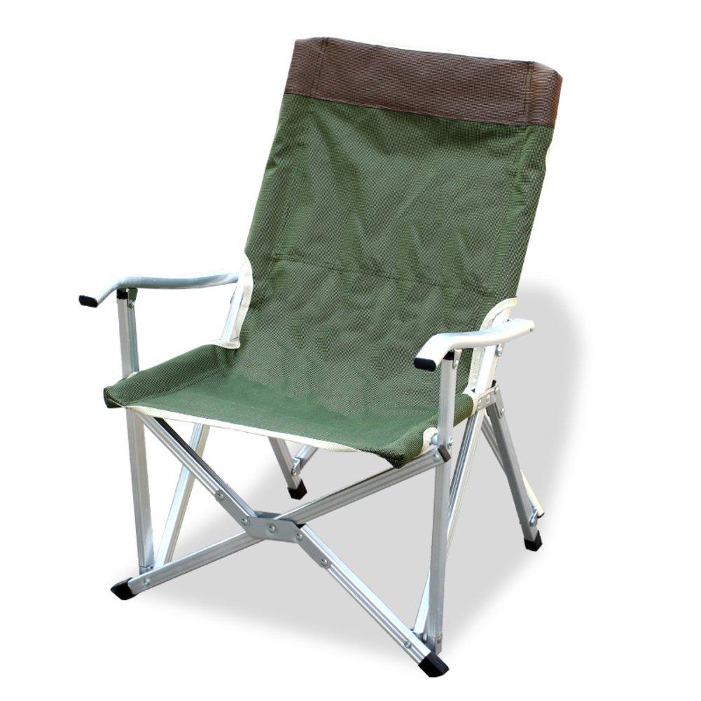 HM&DX Tragbare Camping Klappstuhl Außen Heavy-duty Kompakt Stabil Armlehne Klappstühle Schlägertasche Klappstühle Armlehne Strand Angeln 6f321b