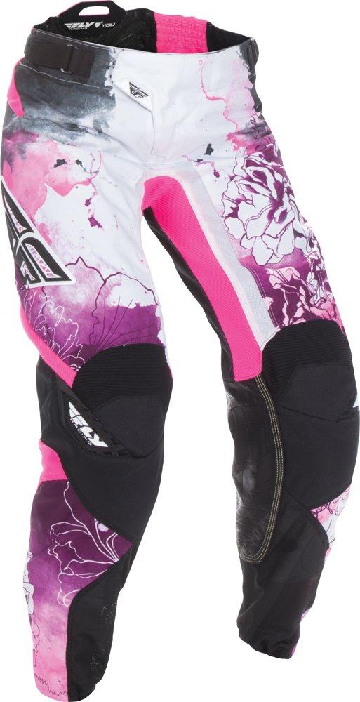 Fly Racing Unisex-Adult Kinetic Women's Race Pants Pink/Purple Size 11/Size 12