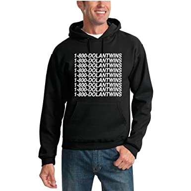 4407b85b5 Wild Bobby 1-800-DolanTwins | Dolan Twins Vine YouTube Unisex Hooded  Sweatshirt Graphic