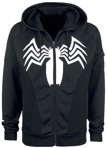Chaqueta Ropa Spider Negro Man Venom Amazon Y Accesorios es EzqYAzF