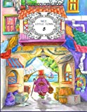 Nice Little Town 8: Adult Coloring Book (Stress Relieving Coloring Pages, Coloring Book for Relaxation)