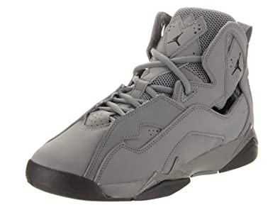 18b0b1ab562ff1 Image Unavailable. Image not available for. Color  Jordan Air True Flight ( Kids) Grey