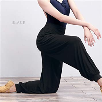 YYHGLH Dance Yoga Pantalones Largos Pantalones Harem para ...