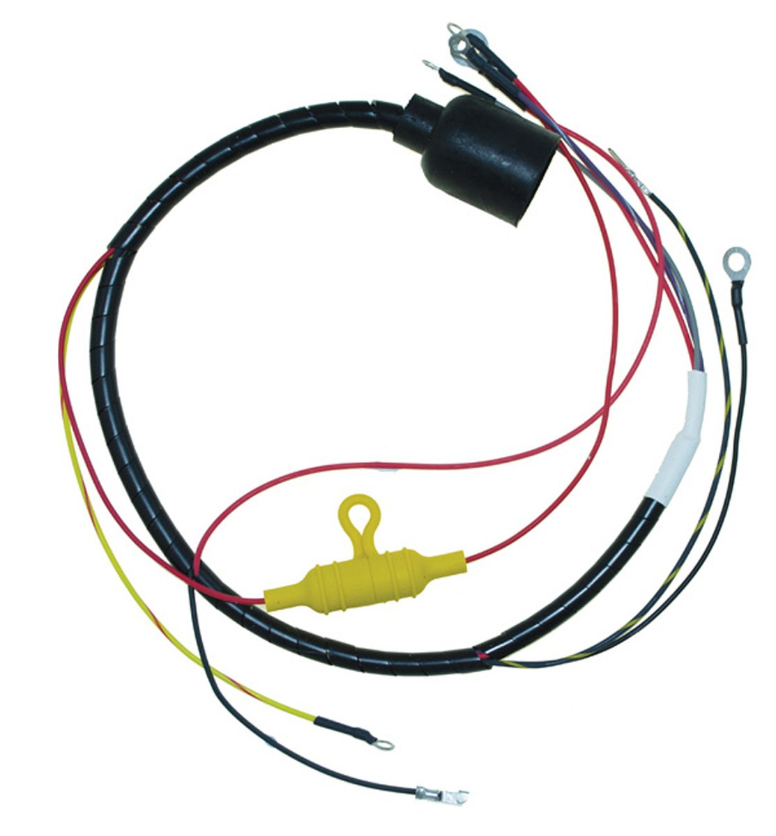 Amazon.com: Johnson Evinrude Round Plug Internal Engine Wiring Harness 55  Hp 1978 2 Cyl WSM 413-9913 OEM# 581973: Automotive