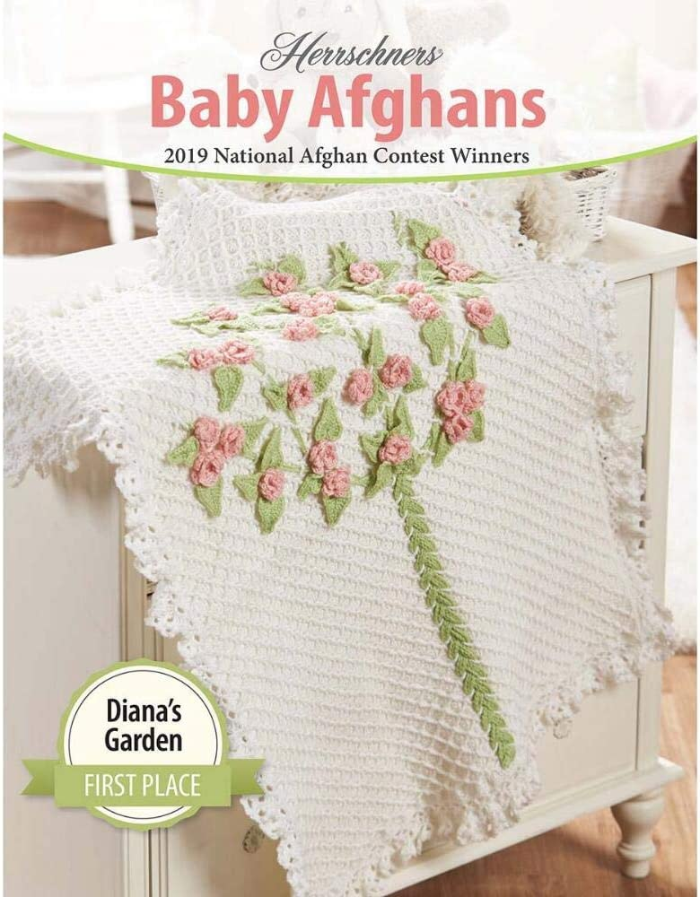 Herrschners/® 2019 Award Winning Baby Afghans Book