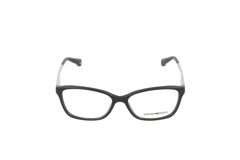 Emporio Armani Montures de lunettes 3026 Pour Femme Black, 52mm  Amazon.fr   Vêtements et accessoires 24ddb97e81d7