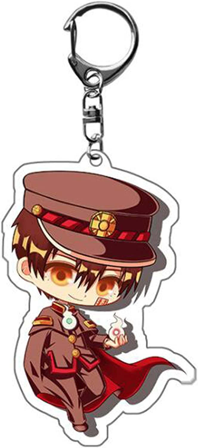 Toilet Bound Keychain Hanako kun Key Chain kun Figure Poster Keychains Toilet Bound Anime Figure Key Chains