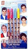 One Direction Lot de 4 stylos à encre gel
