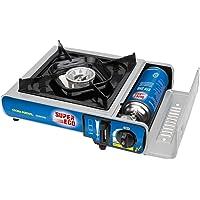 SUPER EGO SEH003300 Cocina cartucho gas portátil, Gris