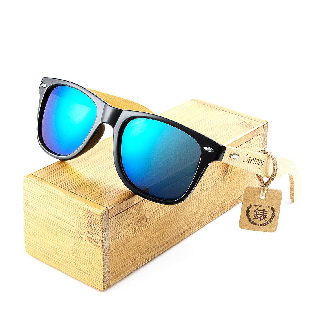 Amazon.com: awerise personalizado madera anteojos de sol ...