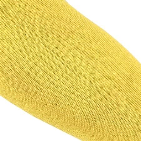 18-Inch MCR Safety 9378B Kevlar Regular Weight 36 Gauge Plain Sleeve with Bar Tack Yellow