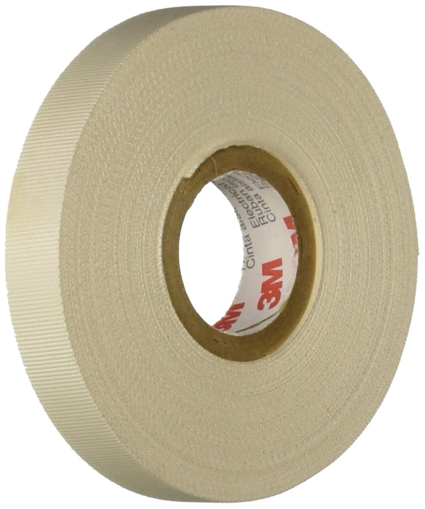 61 WO GxY4L._SL1050_ amazon com 3m glass cloth electrical tape 27, white, rubber 3m harness tape at eliteediting.co